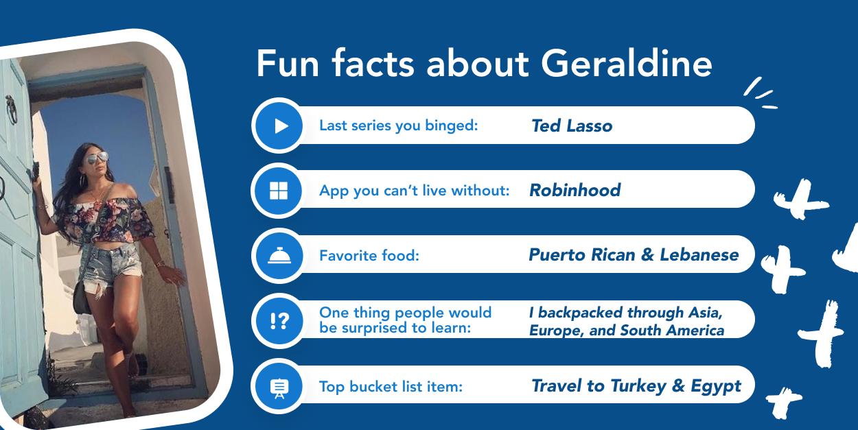 Geraldine - Fun facts graphic