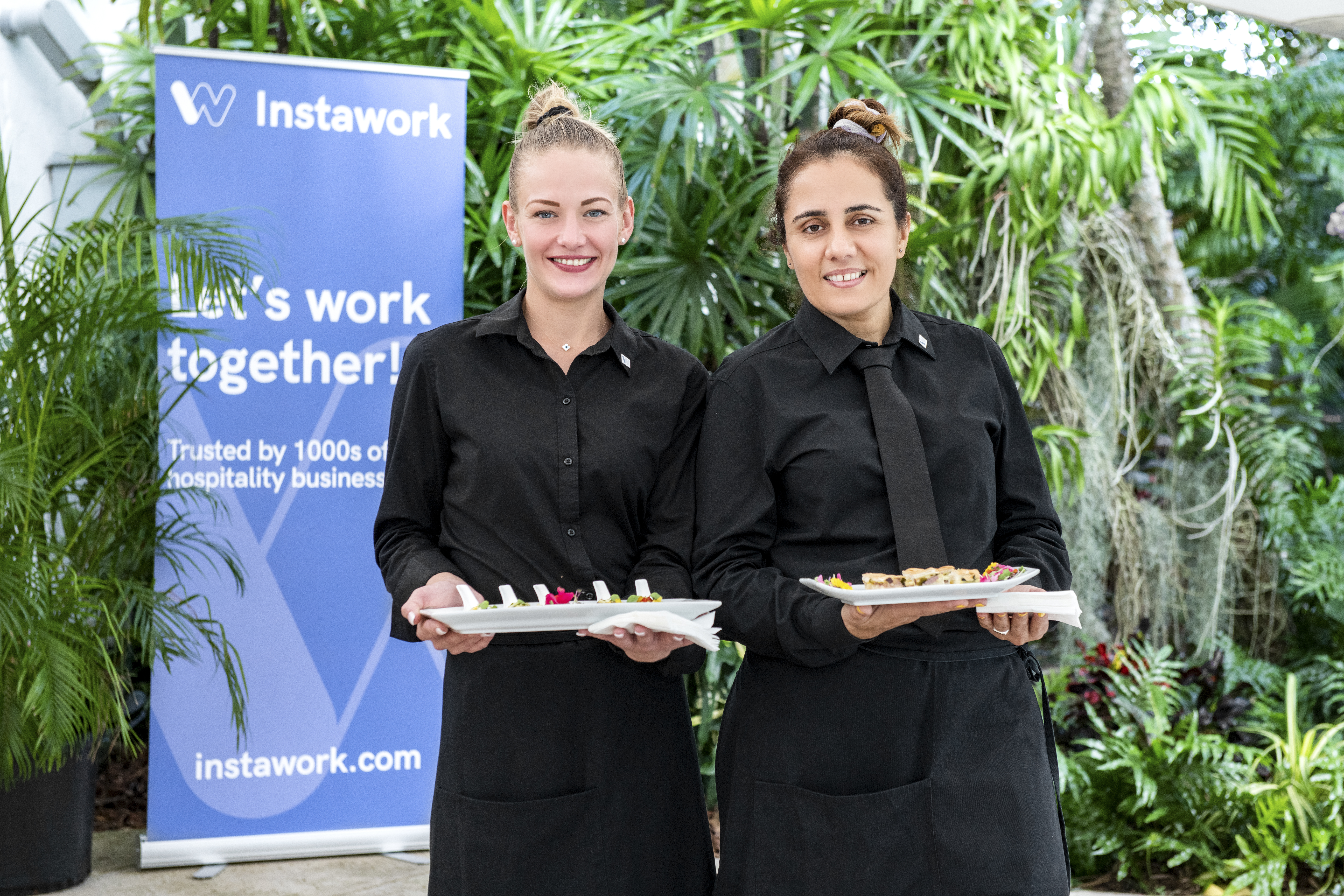 Hospitality staffing at Instawork