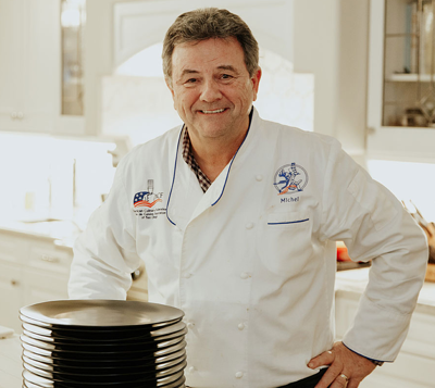 MIchael Malecot at The French Gourmet
